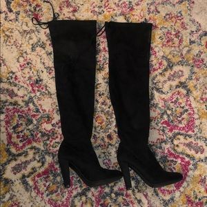 Over the knee Steve Madden boots